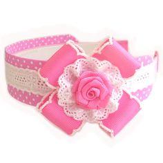 Ou Tecido Headbands Tiaras para Meninas | Solountip.com