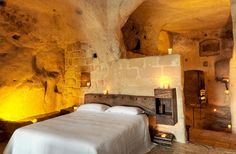 In the city of Matera, deep in southern Italy's Basilicata region, ancient caves that once were home to the poor are transformed into offbeat, luxury hotels.