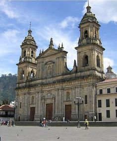 The Catedral Primada in Bogota, Columbia, South America is the biggest Cathedral in Bogota, & is as old as the city, built by the Spanish from 1807 to 1823.