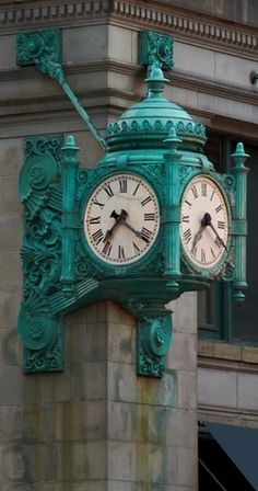Marshall Field's Great Clock Chicago, Illinois