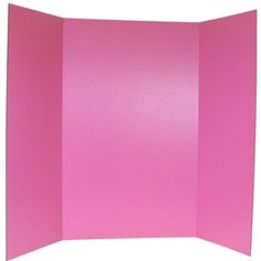 """36"""" x 48"""" Pink Project Display Board 