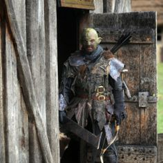 """Lance Alexander is dressed as an Orc for the upcoming Lord of the Rings event at West Stow Anglo Saxon Village. Because of worries that he would scare children, organizers of the popular event are keen to reassure people their resident Orc is """"nice."""" The Ipswich Star has a poll on their site, asking readers to weigh in on the topic of scary orcs."""