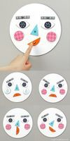 Kids learn about emotions while having fun with this free printable paper craft activity at Mr Printables.