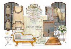 THE GATSBY EFFECT by nyclq | Olioboard #ArtDeco #Gatsby #Moodboard Lynda Quintero-Davids #FocalPointStyling