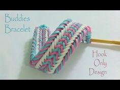 Buddies Bracelet - Hook Only Design - YouTube
