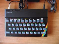 Sinclair ZX Spectrum with composite video output New Membrane Unique in US Old Technology, Composite Video, Old Computers, Married Life, Computer Accessories, Calculator, Computer Keyboard, Programming, Spectrum