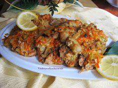 VioletoweKucharzenie: Schab pieczony w cebuli i marchewce