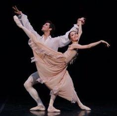 Roberto Bolle and Svetlana Zakharova in 'Manon.' Via Roberte Bolle's instagram.