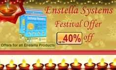Hello Everyone….. Enstella Systems Gives You excellent Diwali offer 40 % on EDB to PST Export Software which can helpfully repair and convert All OST File Emails into four formats Such as: - 1st PST, 2nd EML, 3rd HTML, 4th MSG with all attachment and properties items. This offer till valid only 1 month so fastly click on this site:- http://www.exportexchangeedbpst.exportedbtopst.com/  and   save 40% money.