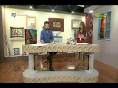 Espazio Ideal Texturas con metalizados 17 de febrero 2016 Telecafé - YouTube Entryway Tables, Youtube, Furniture, Home Decor, Plastering, Pith Perfect, Products, Ideas, Paintings