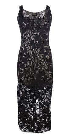 Vivienne Westwood Anglomania #Crochet Dress