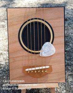 50th Birthday Guitar Card ( Inside)