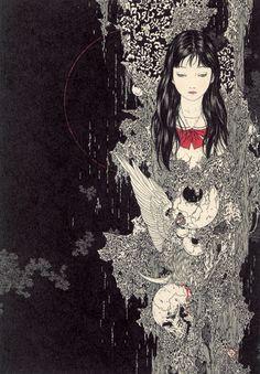 artcreep:    Takato Yamamoto, Sphinx  Via anime online  Thanks, DRR