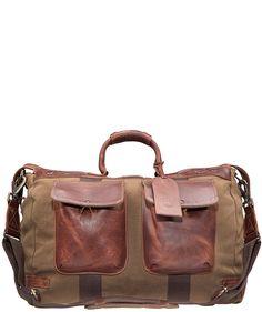 Canvas & Leather Traveler Duffle