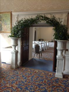 Greenery arch Greenery, Oversized Mirror, Arch, Flowers, Furniture, Home Decor, Home Furnishings, Interior Design, Wedding Arches