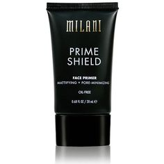 Shop Prime Shield Mattifying + Pore-Minimizing Face Primer by Milani. Meet the invisible but powerful answer to picture-perfect skin! Matte Primer, Mattifying Primer, Makeup Primer, Makeup Brushes, Makeup Palette, Too Faced Primer, Best Primer For Oily Skin, Best Drugstore Primer, Shopping