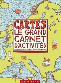 Editions Rue du Monde - Cartes - le grand carnet d'activités