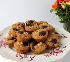 Food Lust People Love: Cherry-O Mini Muffins for #MuffinMonday