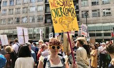 Inside The London Trump Protest, Where Women Brought The Noise For Their American Sisters