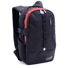 Wolffepack Escape Backpack - Award Winning Design - Laptop Rucksack Black *** Click image for more details.