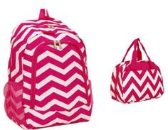 Chevron Backpack Matching Insulated Lunch Bag Hot Pink White Private Label http://www.amazon.com/dp/B00FA6P1SA/ref=cm_sw_r_pi_dp_NOs3tb1ZHBF4X5A5
