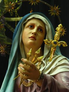 Our Lady of Sorrows ~ Seven swords pierced her heart