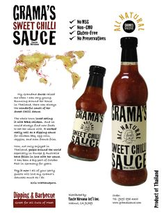 Tastenirvana Grama's Sweet Chili Sauce : Home