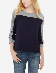 Textured Colorblock Top from THELIMITED.com