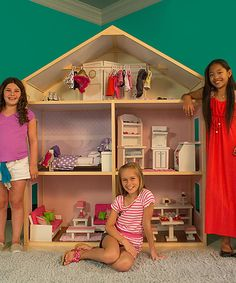 Look at this #zulilyfind! Country French Style Doll House by Wicked Cool Toys #zulilyfinds