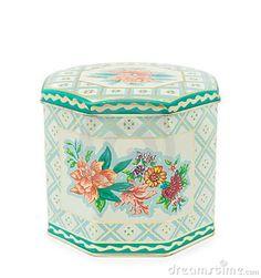 vintage tins image | Vintage Tea Tin Box Royalty Free Stock Photos - Image: 19276648