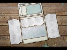"""Everlasting""~Adding Magnets to a Mini Album Page~ - YouTube"