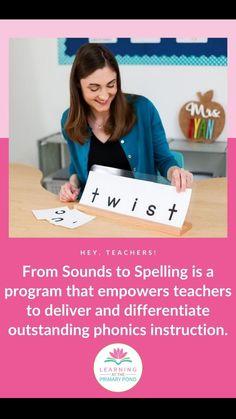 Phonemic Awareness Activities, Phonological Awareness, Kindergarten Classroom, School Classroom, Spelling And Handwriting, Letter Sounds, Phonics, Lesson Plans, Teaching