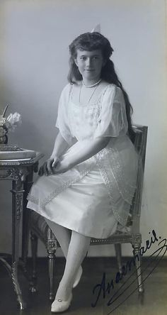Portrait of Grand Duchess Anastasia.