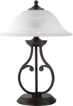 Coaster Company Dark Bronze Table Metal Lamp with Glass Shade (Dark Bronze Table Lamp with Glass Shade) Traditional Table Lamps, Contemporary Table Lamps, Contemporary Style, Metal Table Lamps, Coaster Furniture, Fine Furniture, Cool Floor Lamps, Lamp Sets, Glass Shades