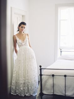 Rebecca Schoneveld Bridal | The Layla Gown | Handmade in Brooklyn