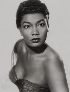 American actress and singer, Pearl Bailey