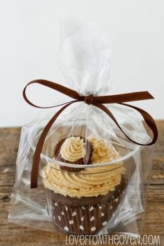 To gift a cupcake