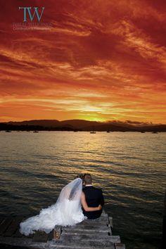 Whitsunday Wedding Sunset