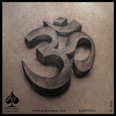 "Om Is that one Symbol which needs no explanation.. Done it in 3D style, Simple , Clean & Classy is what our #AceArtist #PareshSalvi Amazingly pulled it out.. #KingsTattooSupply Placement : #ArmTattoo Size : _5"" by 3"" approx  www.acetattooz.com  #3DTattoo #OmTattoo #AceTattooz #Mumbai #OmTattoo #SimpleOmTattoo #AmazingTattoos #AceTattoozMumbai #AceTattoozColaba"