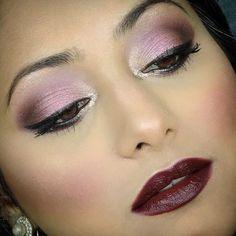 burgundy fall makeup inspiration