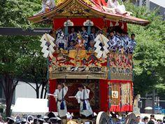 祇園祭り  Gion Festival, Kyoto Japan