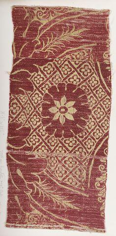 Italian Silk, 17th C