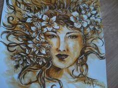 De Isabelle Nogueira - acrílica s/ papel - 2014
