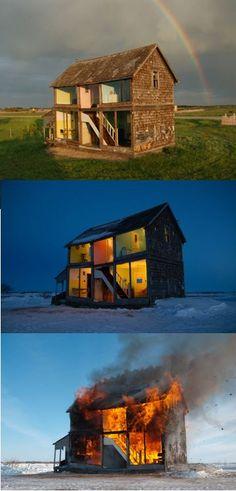 The Dollhouse - Heather Benning (2005-13) http://www.heatherbenning.ca/