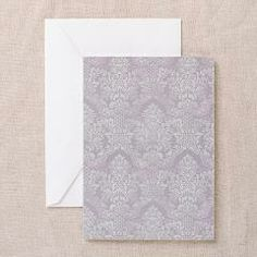 Lavender Vintage Antique Victorian Flourish Damask Greeting Cards> Lavender Vintage Antique Victorian Flourish Damask> Pattern Designs