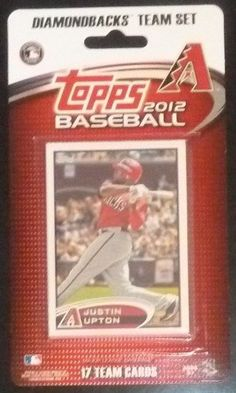 2012 Topps Arizona Diamondbacks Factory Sealed Special Edition 17 Card Team Set; Cards Are Numbered ARZ1 Through ARZ17 and Are Not Available in Packs. Players Included Are Justin Upton, Chris Young, Stephen Drew, Lyle Overbay and Others Plus a Stadium Card of Chase Field. by Arizona Diamondbacks Team Set. $8.99. This is a 2012 Topps Arizona Diamondbacks Factory sealed special edition 17 card team set; cards are numbered ARZ1 through ARZ17 and are not available in ...