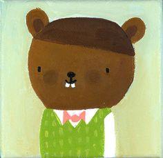 Mr. Beaver by Lori Joy Smith.  https://www.flickr.com/photos/bearandbird/2836935202/in/set-72157607058444925/