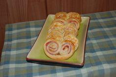 palmeritas de jamon y queso