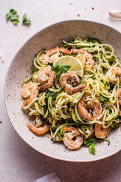 15 minute garlic shrimp zoodlesReally nice recipes. Every  Mein Blog: Alles rund um Genuss & Geschmack  Kochen Backen Braten Vorspeisen Mains & Desserts!