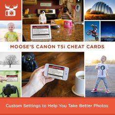 Moose's Canon T5i Tips, Tricks & Best Settings | EOS 700D